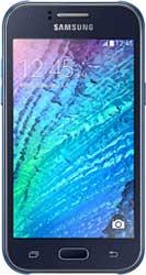 Samsung Galaxy J1 blue