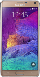 Samsung Galaxy Note 4 gold