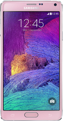 Samsung Galaxy Note 4 pink