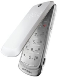 Motorola Gleam white
