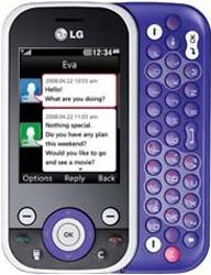 LG KS365 purple