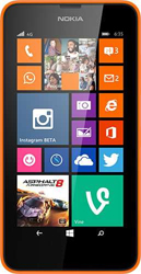 Nokia Lumia 630 orange