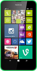 Nokia Lumia 635 green