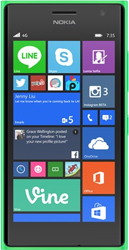 Nokia Lumia 735 green
