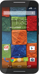 Motorola New Moto X 2014 black leather edition