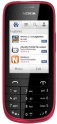 Nokia Asha 203 black