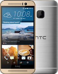 HTC One M9 silver
