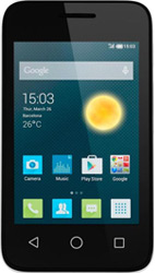 Alcatel Onetouch Pixi 3 3.5 black