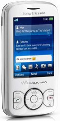 Sony Ericsson Spiro white
