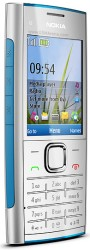 Nokia X2 silver blue