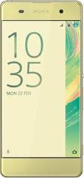 Sony Xperia XA lime