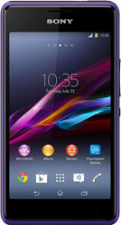 Sony Xperia E1 purple