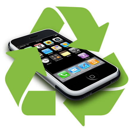 mobile phones recycling - sam earth project